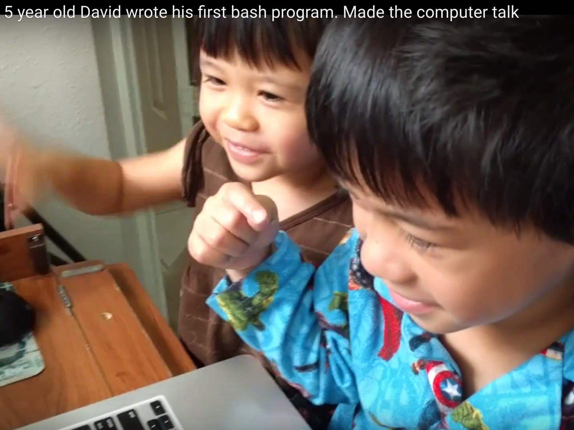 My 5-year Old Son Wrote His First Program
