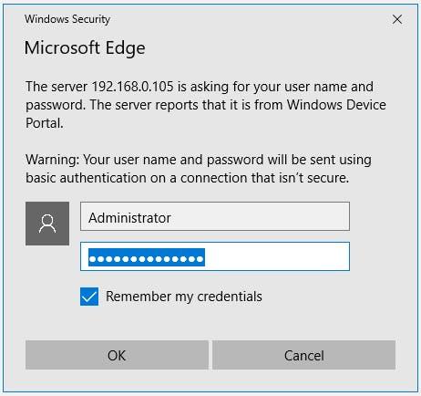 Windows Security Alert
