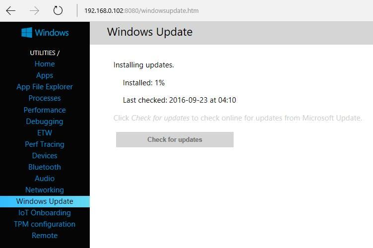 Installing Updates