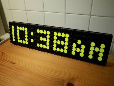 Flip Dot Clock