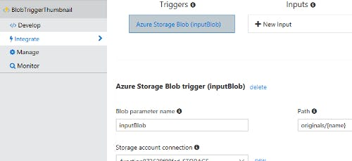 Integrate Input Parameter and Trigger