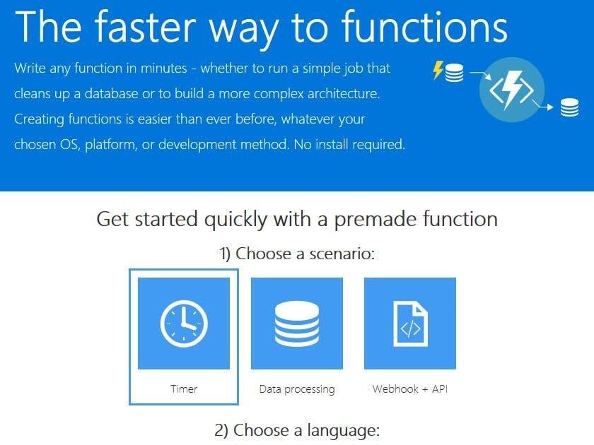 Azure Function Apps; Running Custom Code on Blob Insertion