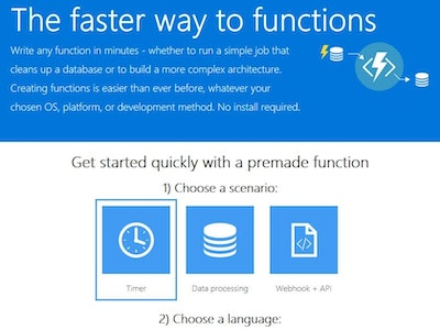 Azure Function Apps; Running Custom Code on Blob Insertion
