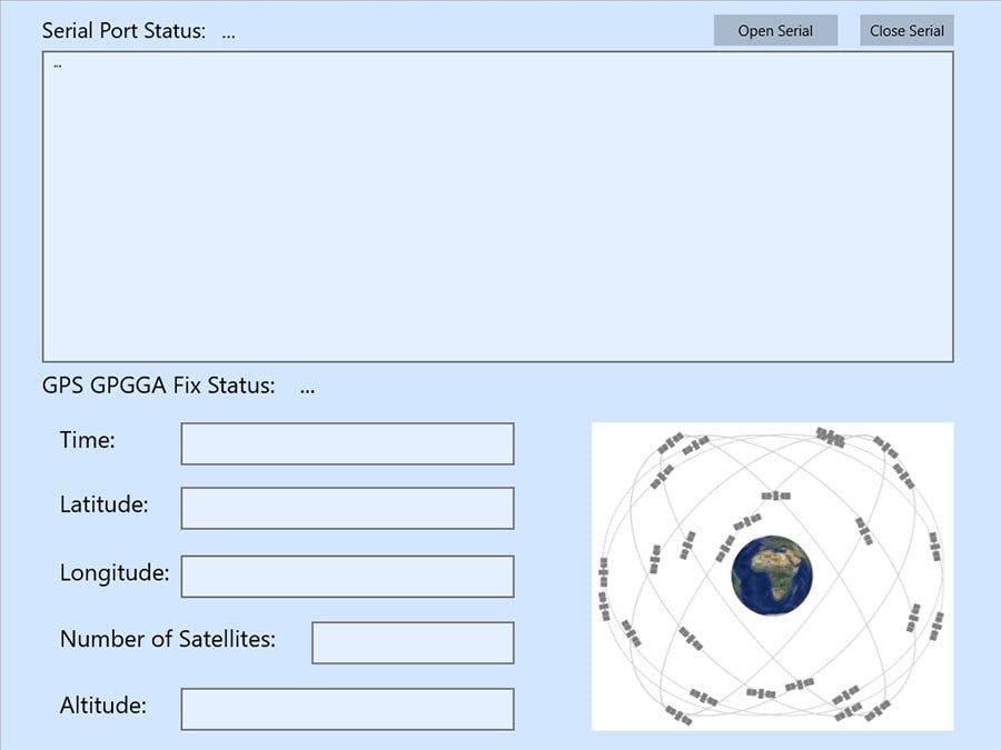 How to setup GPS module and collect GPS data in Windows IoT