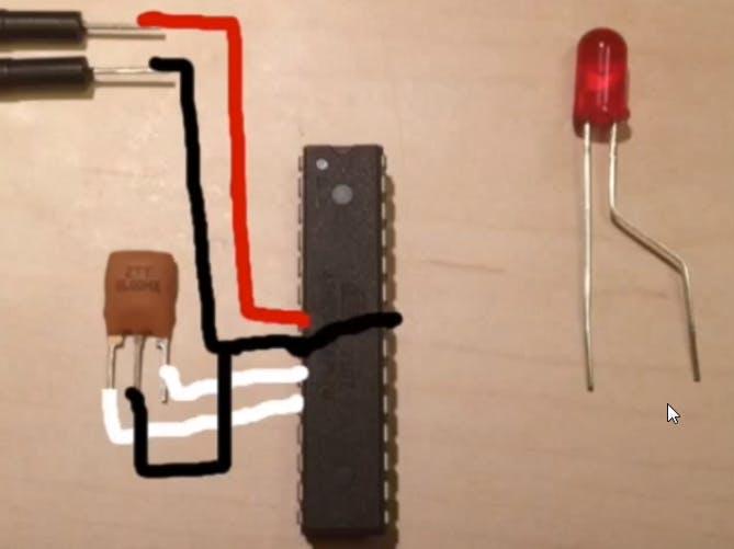 "Minfying the Arduino. ""Really Bare Board Arduino""..."