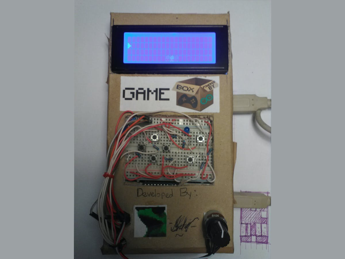 GameBox - The Arduino LCD Console