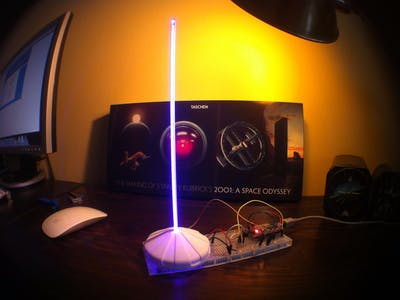 Mood Lamp with IR Remote Control