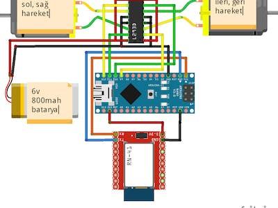 Arduino Control Hexbug Spider