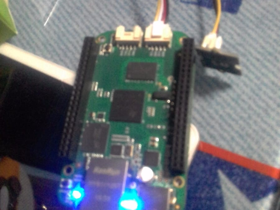 BeagleBone Green Temperature Monitor on Artik Cloud