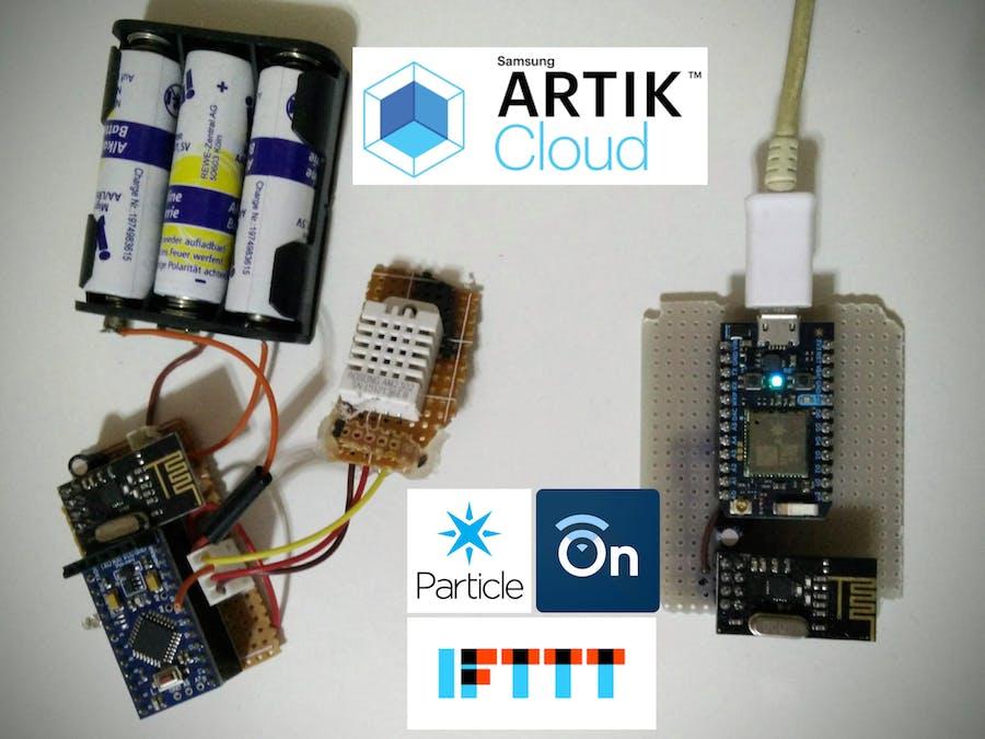 Smart Home - Smart Rules using ARTIK Cloud & Photon