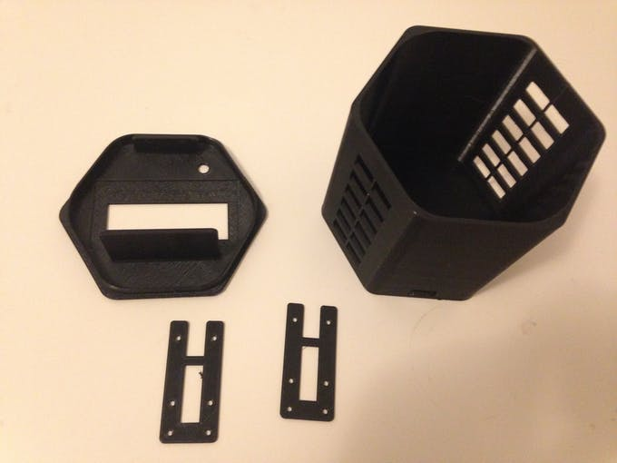 3D printed parts for the IoT command Center