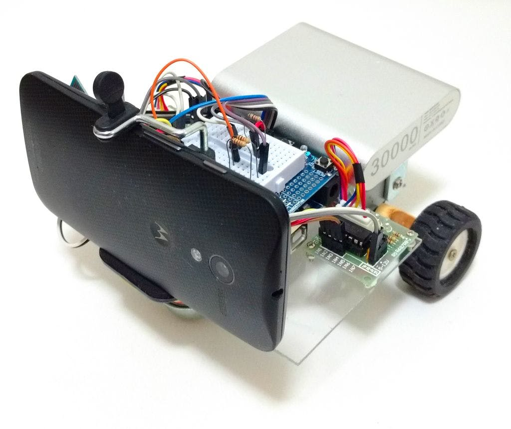 Wi-fi Controlled FPV Rover Robot (with Arduino and ESP8266)
