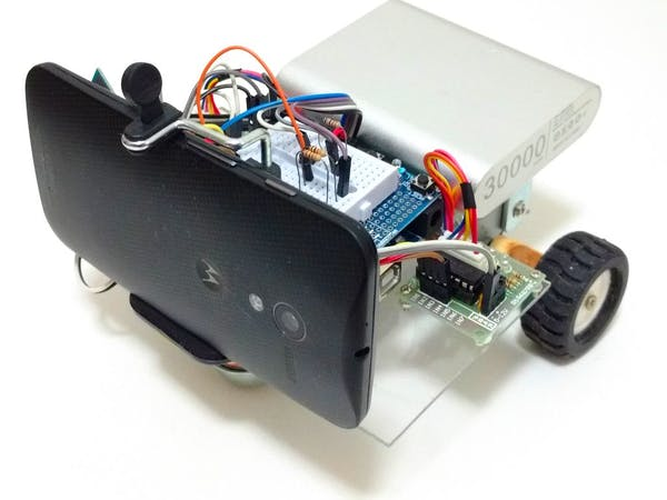 Wi fi controlled fpv rover robot with arduino and esp