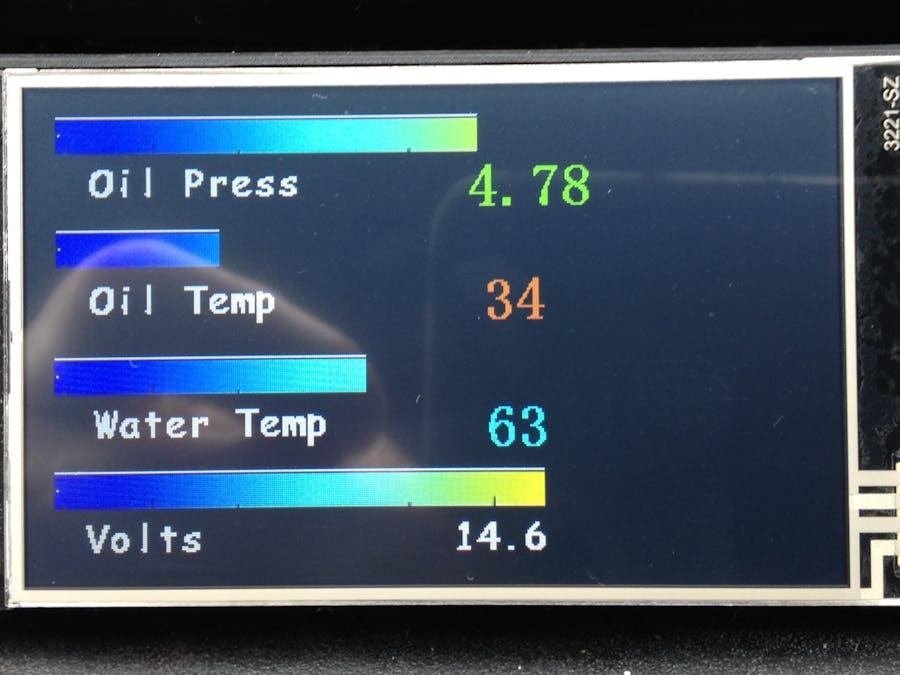 Car Sensor monitoring & Alarm