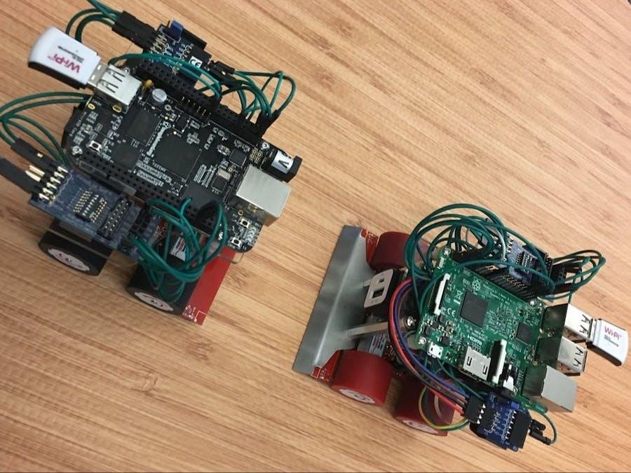 Arduino/BeagleBone Black LabVIEW Sumobots