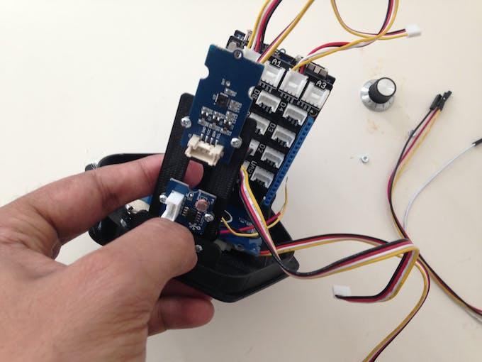 Add the sensor Holder
