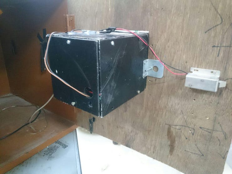 Rear side of the Airlock