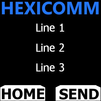Template of the HexiComm System