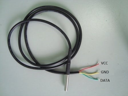 Figure 3.2 Jack connection for temperature sensor
