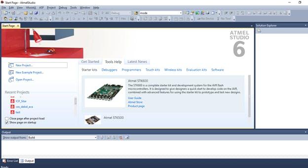 Atmel Studio Home Page
