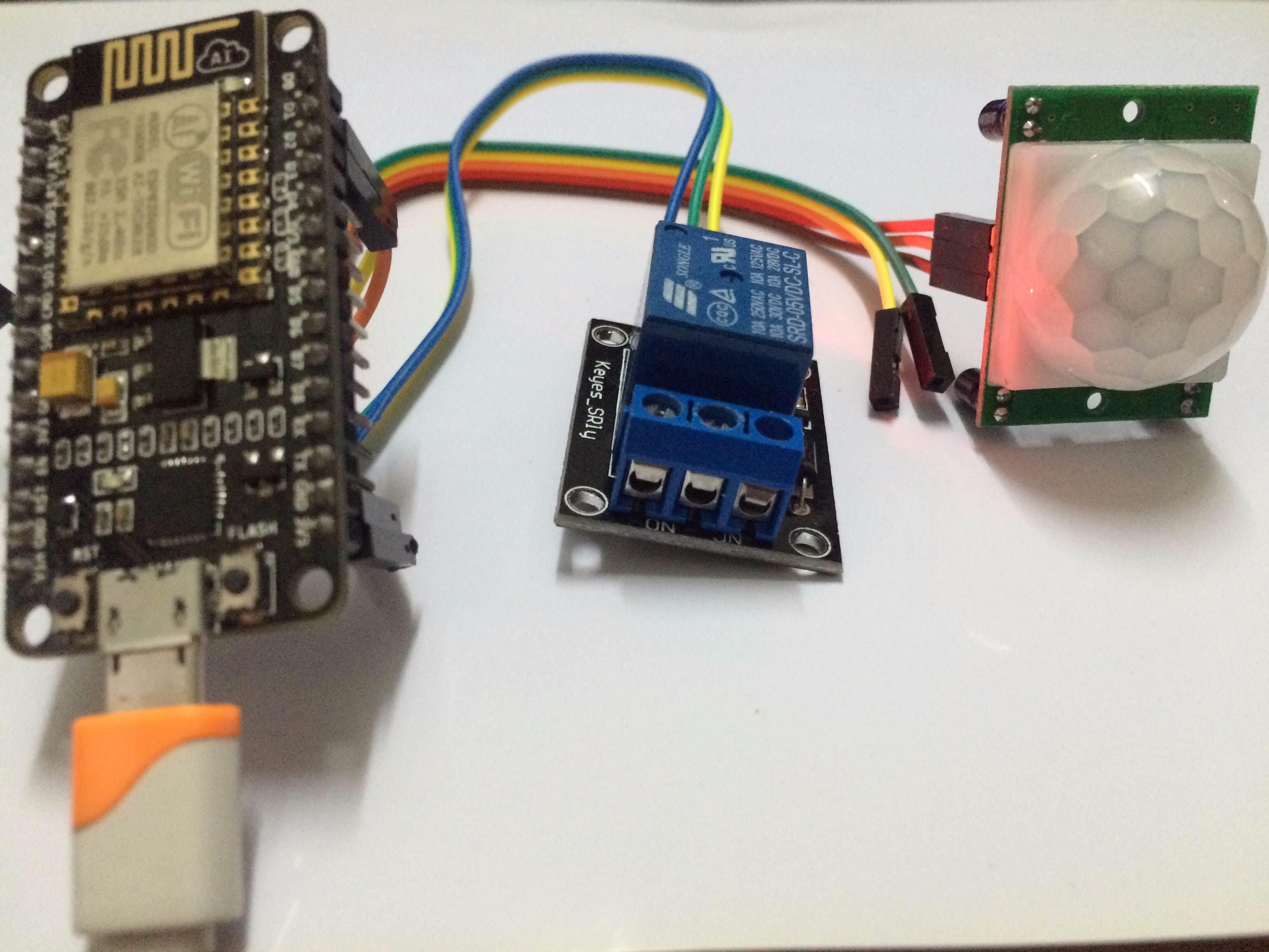 how to make a simple motion sensor