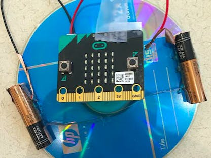 Micro;Bit Top Revolution Counter