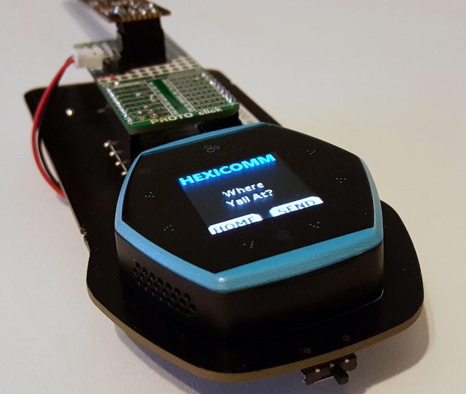 HexiComm Prototype