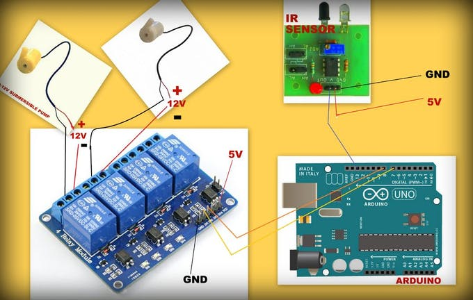 Arduino automatic milk feeder project hub