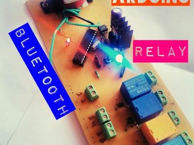 R E L A Y D U I N O High Voltage Control
