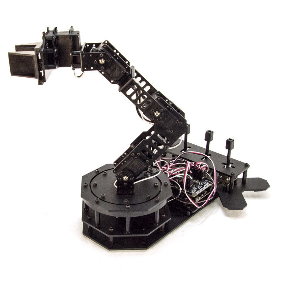 Controlling Arduino Robot Arm With Arm Link Software - Hackster io