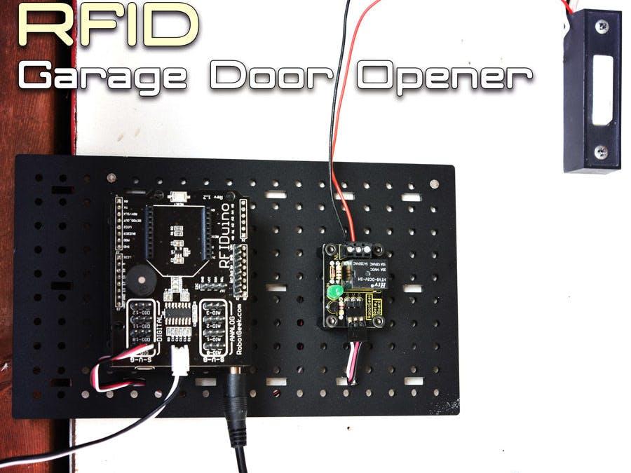 Arduino RFID Garage Door Opener - Hackster io