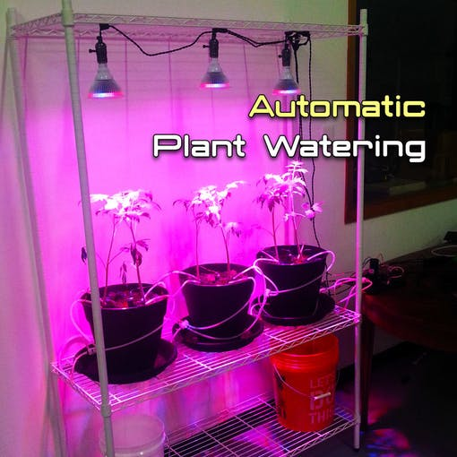 Automatic plant watering system with arduino