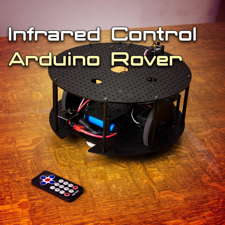 Controlling an Arduino based Rover with IR Remote - Hackster io