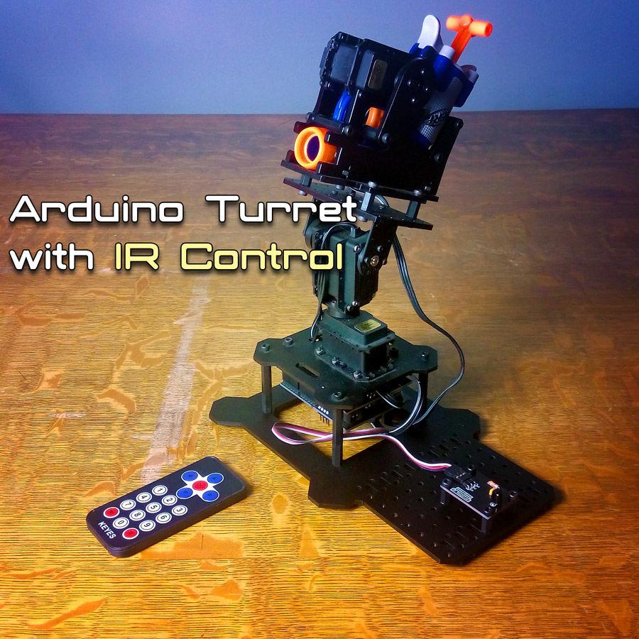 Arduino Portal Turret HD Video - YouTube Arduino