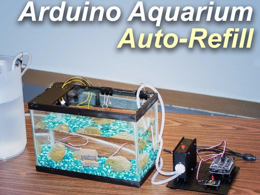 Aquarium Auto Refill With Arduino - Arduino Project Hub