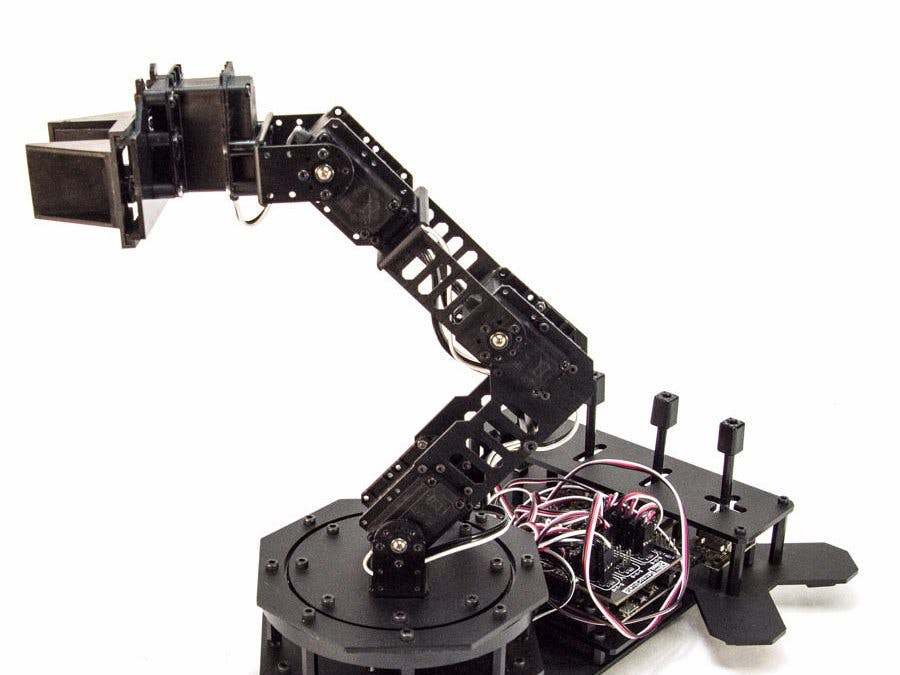 Controlling Arduino Robot Arm With Arm Link Software
