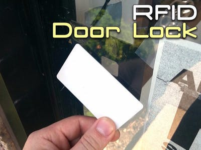 RFID Door Lock with Arduino