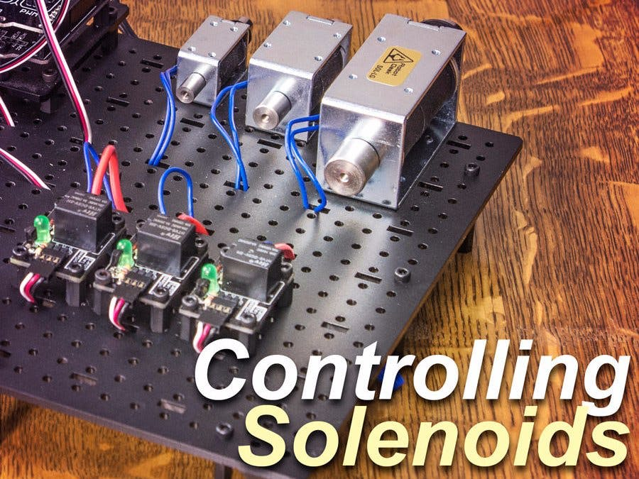 Control a Solenoid with Arduino - Hackster io