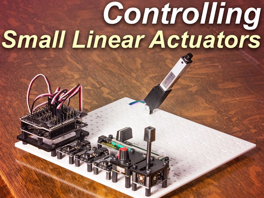 Control a Small Linear Actuator with Arduino - Arduino Project Hub