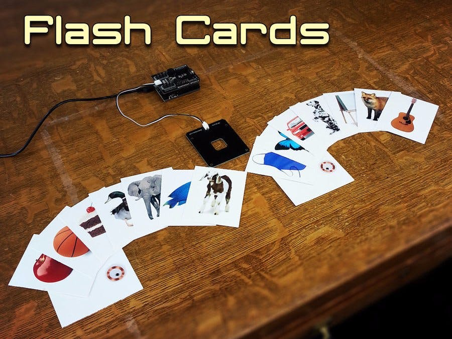 Arduino RFID Flash Cards (Matching Game)