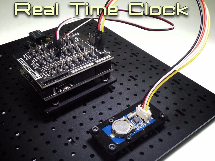 using a real time clock with arduino arduino project hub