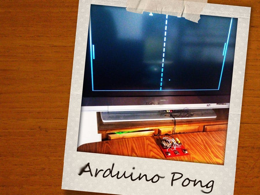 Arduino Pong With TV Output