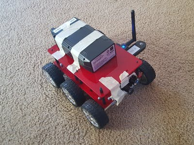 Long Range Cellular Robot Earth Rover