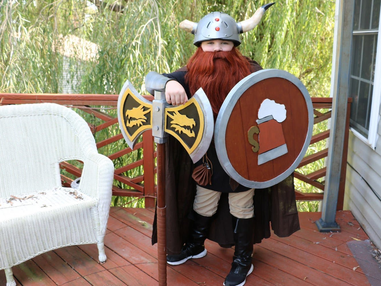 The Day My Son Wanted to be Bruenor Battlehammer!