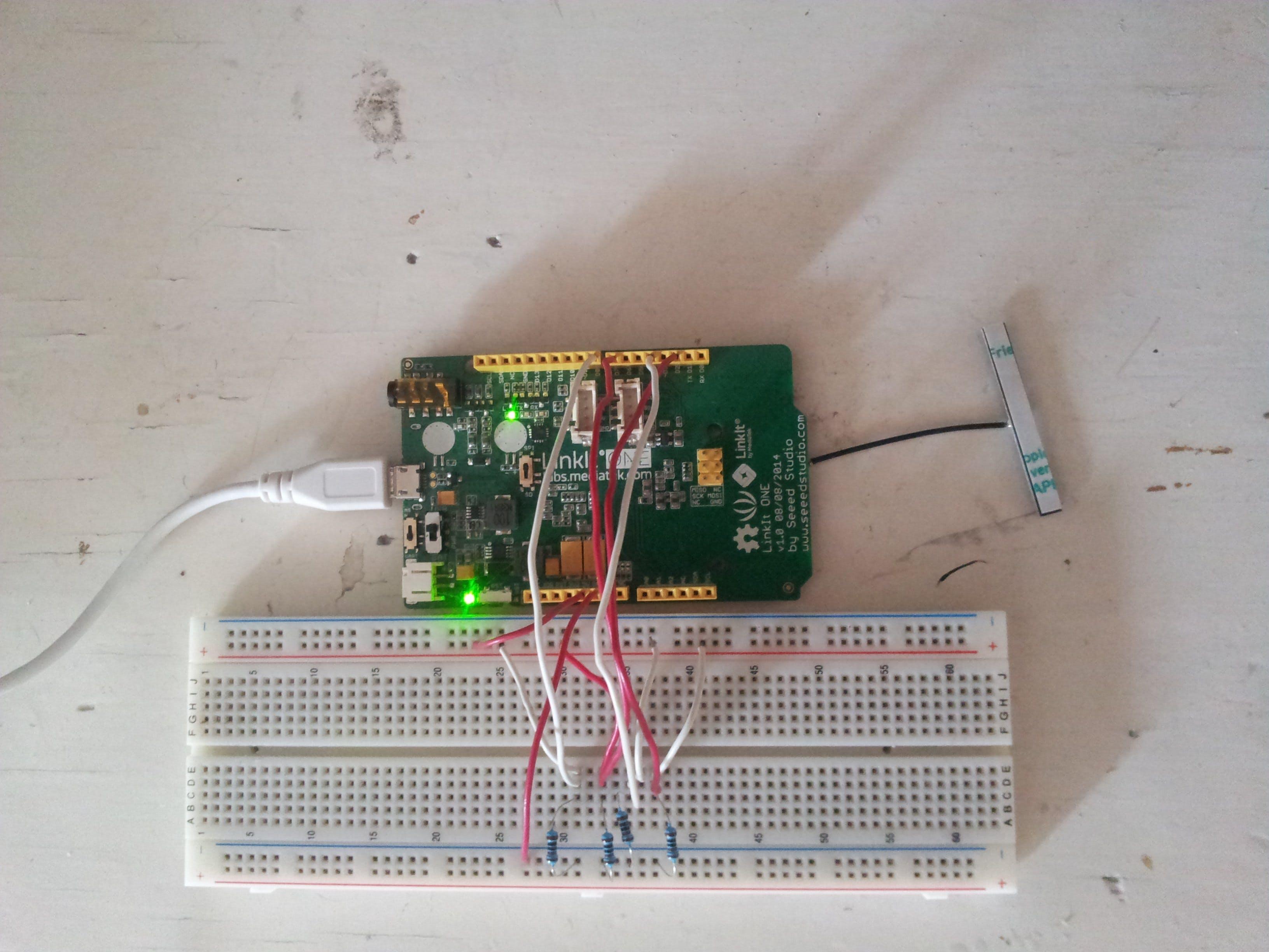 Ubidots Signal Recorder