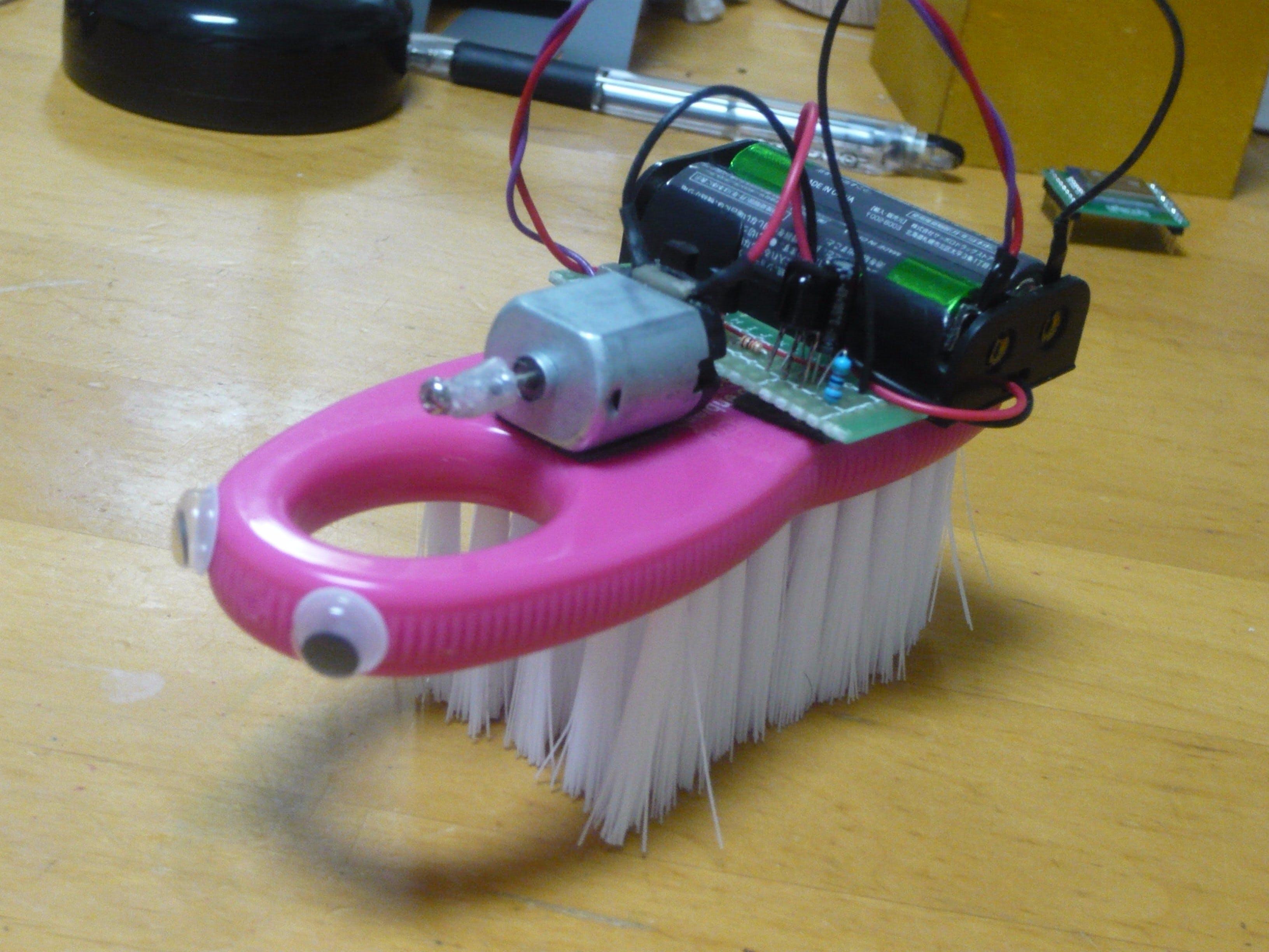 IR Controlled Brush!