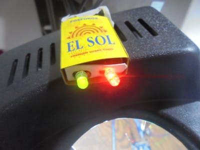 Matchbox LEDs with ESP8266 IoT