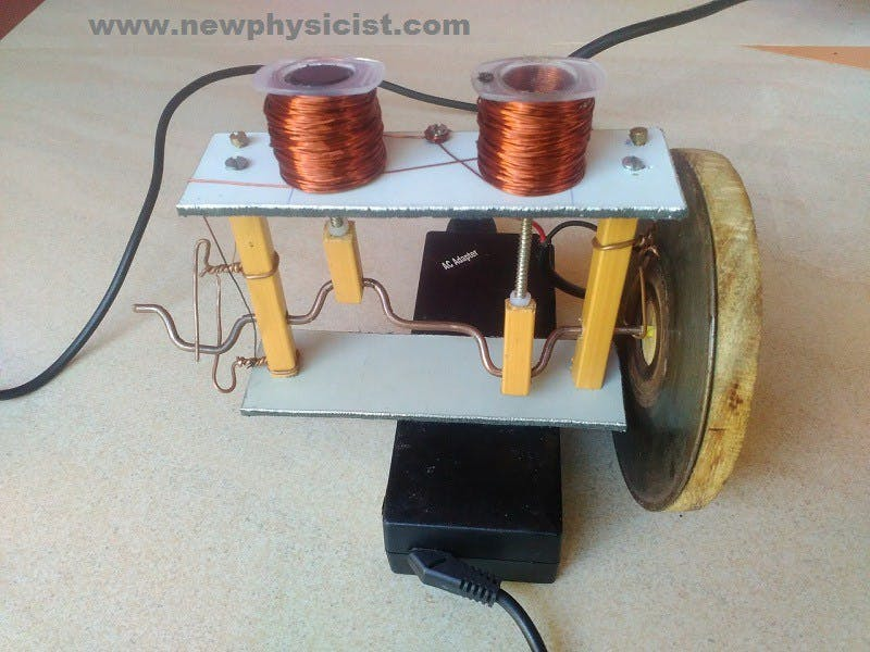 How to Make Solenoid Engine (Pictures and Video)
