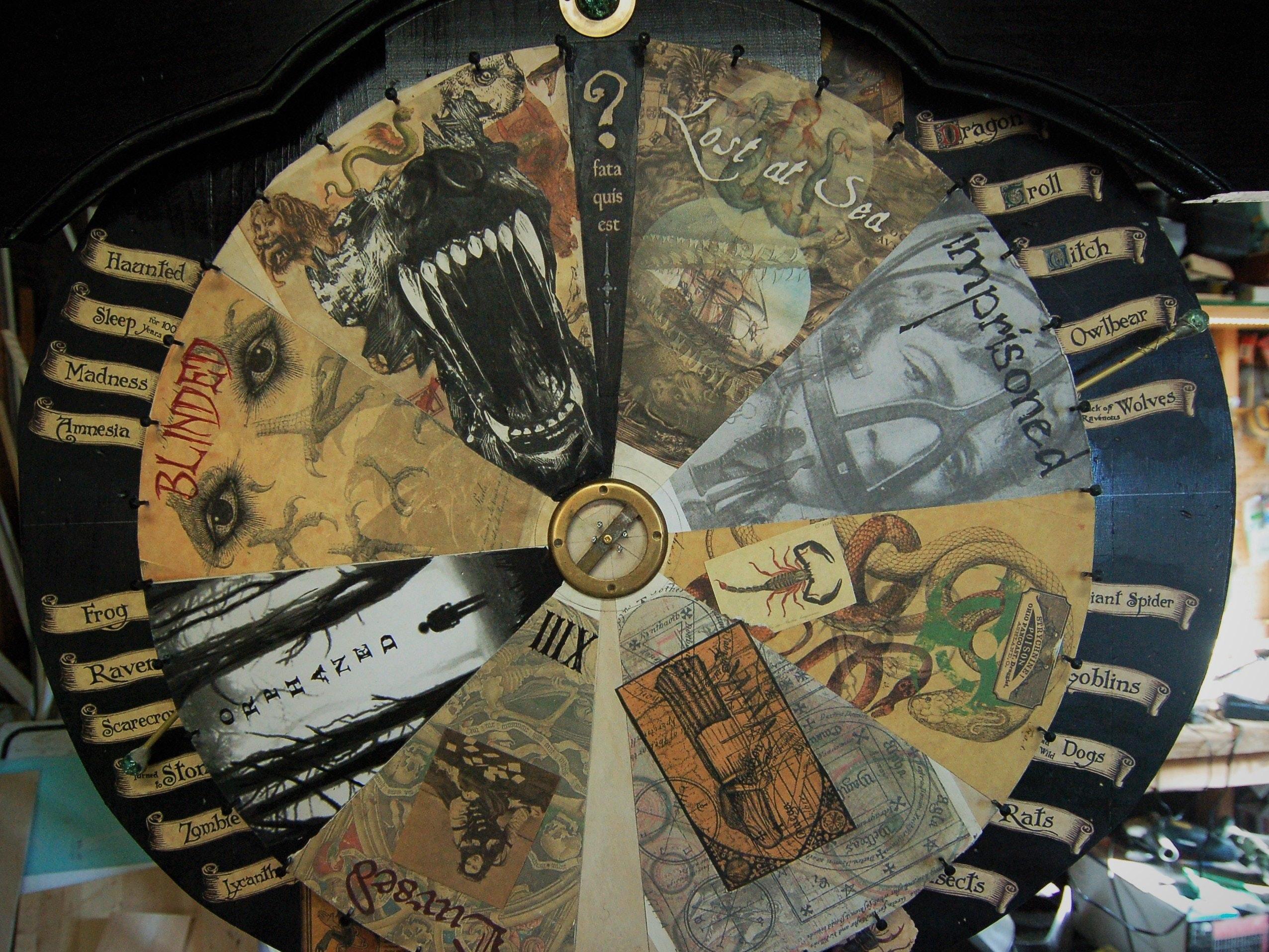 Wheel Of Misfortune Hackster Io
