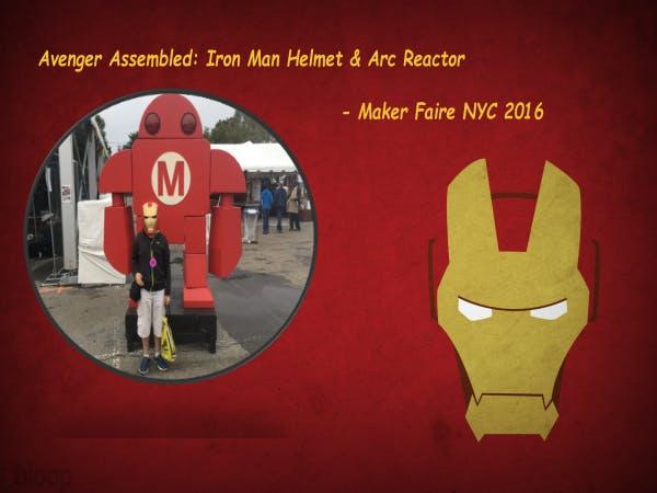 Avenger Assembled: Iron Man Helmet & Arc Reactor